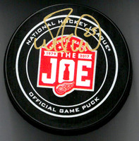 Mike Green Autographed Farewell to the Joe Official Game Puck