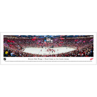 Final Game at Joe Louis Arena Panoramic Print