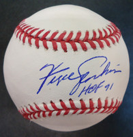 "Fergie Jenkins Autographed Baseball - Official Major League Ball Inscribed ""HOF 91"""