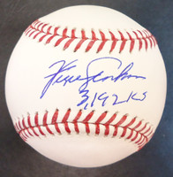 """Fergie Jenkins Autographed Baseball - Official Major League Ball Inscribed """"3192 K's"""""""