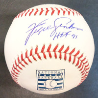 """Fergie Jenkins Autographed Baseball - Official Hall of Fame Ball Inscribed """"HOF 91"""""""
