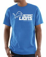 Detroit Lions Majestic NFL Critical Victory Men's T-Shirt