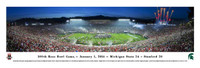 Michigan State Spartans 2014 Rose Bowl Panoramic Print