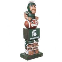 Michigan State Spartans Tiki Totem