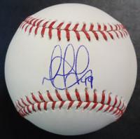 Dixon Machado Autographed Baseball - Official Major League Ball
