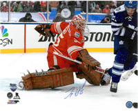 Jimmy Howard Autographed Detroit Red Wings 16x20 Photo #4 - 2014 Winter Classic