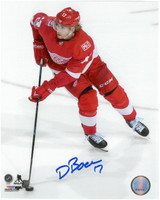 David Booth Autographed Detroit Red Wings 8x10 Photo #2