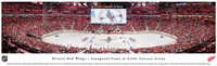 Inaugural Game at Little Caesars Arena Panoramic Print