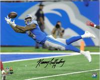 Kenny Golladay Autographed Detroit Lions 16x20 #1 - Diving Touchdown