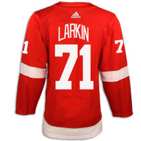 Detroit Red Wings Adidas Authentic Red Jersey - Larkin #71
