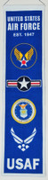 Air Force Wool Heritage Banner