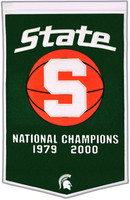 Michigan State University Wool Dynasty Banner