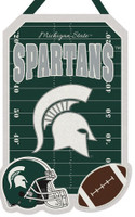 Michigan State University Felt Warm Welcome Door Decor