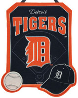 Detroit Tigers Felt Warm Welcome Door Decor