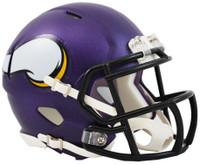 Minnesota Vikings Riddell Mini Speed Helmet