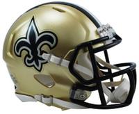 New Orleans Saints Riddell Mini Speed Helmet
