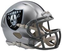 Oakland Raiders Riddell Mini Speed Helmet