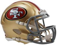 San Francisco 49ers Riddell Mini Speed Helmet