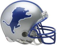 Detroit Lions Riddell Mini Throwback Helmet 1983-2002