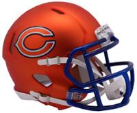 Chicago Bears Blaze Alternate Speed Riddell Mini Helmet