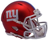 New York Giants Blaze Alternate Speed Riddell Mini Helmet