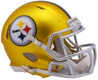 Pittsburgh Steelers Blaze Alternate Speed Riddell Mini Helmet
