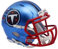 Tennessee Titans Blaze Alternate Speed Riddell Mini Helmet