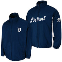 Detroit Tigers Men's Majestic Authentic Triple Climate Home Climate 3-In-1 On-Field Jacket