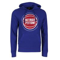 Detroit Pistons Men's 47 Brand Blue Knockaround Headline Fashion Hoodie