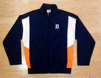 Detroit Tigers Men's Majestic Full Zip Windbreaker
