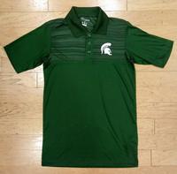 Michigan State University Men's Champion Green Polo