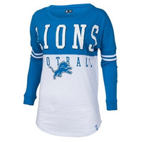 "Detroit Lions Women's NFL Team Apparel ""Spirit"" Long Sleeve"