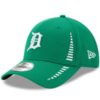 Detroit Tigers Men's New Era Kelly Green Speed St. Patrick's Day 9FORTY Adjustable Hat