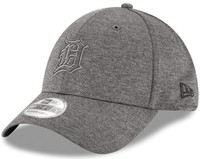 Detroit Tigers New Era Men's Graphite 2018 Clubhouse Collection Classic 39THIRTY Flex Hat