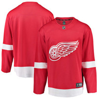 Detroit Red Wings Men's Fanatics Replica Home Jersey - Red
