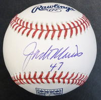 Jack Morris Autographed Baseball - Hall of Fame Logo Ball