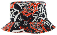 Detroit Tigers Men's 47 Brand Detroit Tigers White Bravado Bucket Hat
