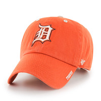 Detroit Tigers Men's 47 Brand Orange Ice Clean Up Adjustable Hat