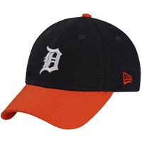 Detroit Tigers Men's New Era 9FORTY Navy The League 2-Tone Adjustable Hat