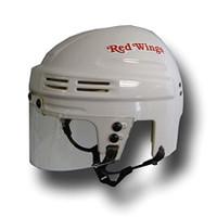 Detroit Red Wings White Mini Helmet