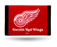 Detroit Red Wings Rico Industries Trifold Nylon Wallet