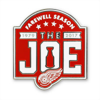 Detroit Red Wings Aminco Farewell to the Joe Lapel Pin