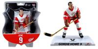 """Detroit Red Wings Gordie Howe 2017-18 NHL 6"""" Figure Imports Dragon Wave 2"""