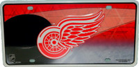 Detroit Red Wings Rico Industries Metal License Plate