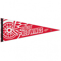 "Detroit Red Wings WinCraft 12"" x 30"" Premium Pennant"