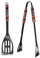 Detroit Tigers Siskiyou Sports 2-Piece Stainless Steel BBQ Tool Set