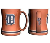 Detroit Tigers Boelter Brands Sculpted Coffee Mug - Orange (14 oz)