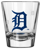 Detroit Tigers Boelter Brands Satin Etch Shot Glass