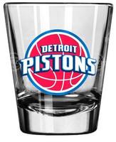 Detroit Pistons Boelter Brands Satin Etch Shot Glass