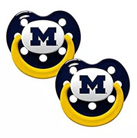 University of Michigan Infant 2 Piece Orthodontic Pacifier Set